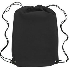 Canyon Non-Woven Drawstring Backpack for Your Church