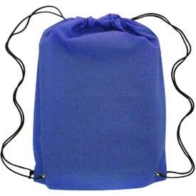 Company Canyon Non-Woven Drawstring Backpack