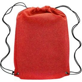 Custom Canyon Non-Woven Drawstring Backpack