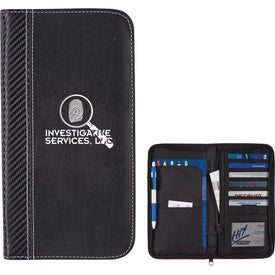 Carbon Fiber Travel Wallet