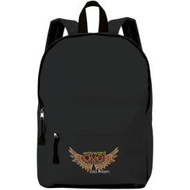 Imprinted Casual Backpack