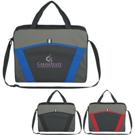 Casual Friday Messenger Brief Imprinted with Your Logo