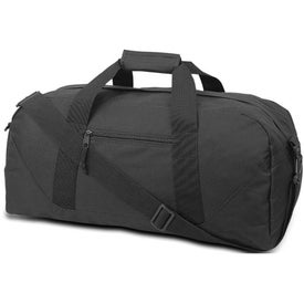 Advertising Cave Large Square Duffel Bag