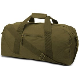 Promotional Cave Large Square Duffel Bag