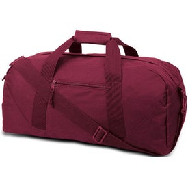 Customized Cave Large Square Duffel Bag