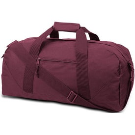 Branded Cave Large Square Duffel Bag