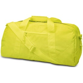 Cave Large Square Duffel Bag Imprinted with Your Logo