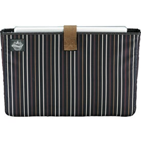 Cutter & Buck Legacy Cotton Compu-Messenger Bag Printed with Your Logo