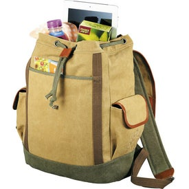 Cutter & Buck Legacy Cotton Rucksack Backpack for Your Company