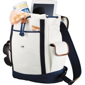 Custom Cutter & Buck Legacy Cotton Rucksack Backpack