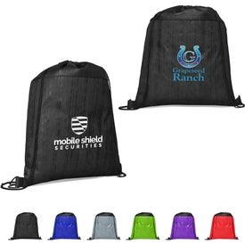 Cedar Non-Woven Drawstring Backpack