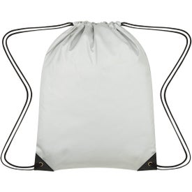 Celestial Reflective Drawstring Bag