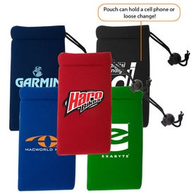 Logo Cell Phone Pouch