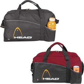 Center Court Duffel Imprinted with Your Logo