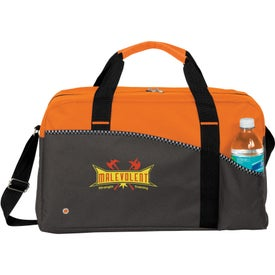 Printed Center Court Duffel