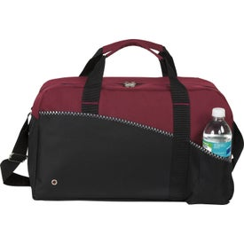 Imprinted Center Court Duffel