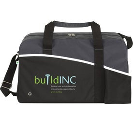 Printed Center Court ECO Duffel