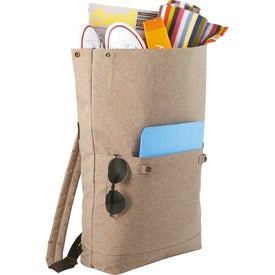Chambray Rucksack for your School