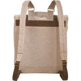 Promotional Chambray Rucksack