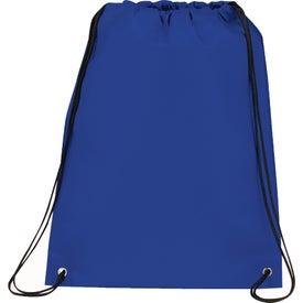 Logo Champion Drawstring Cinch Backpack