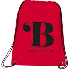 Imprinted Champion Drawstring Cinch Backpack