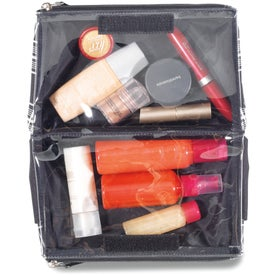 Branded Charlotte Cosmetic Case