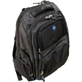 Imprinted Zoom Checkpoint-Friendly Compu-Backpack