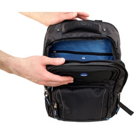 Zoom Checkpoint-Friendly Compu-Backpack for Your Organization