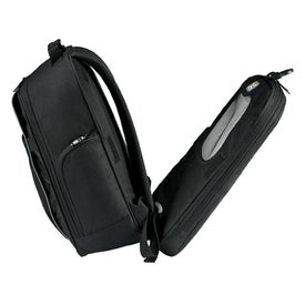 Branded Checkmate Checkpoint-Friendly Compu-Backpack