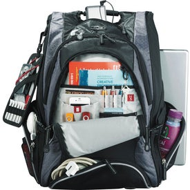 Branded Elleven Drive Checkpoint Friendly Compu-Backpack