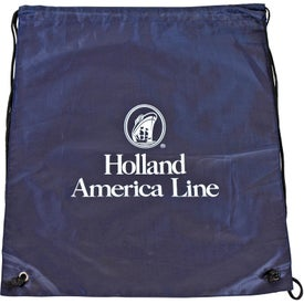 Cinch Up Backpack Imprinted with Your Logo