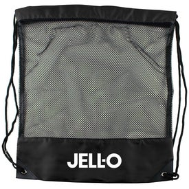 Cinch Bag Draw String Mesh Backpack Branded with Your Logo
