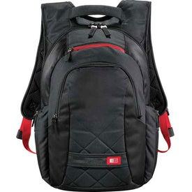 Branded Case Logic Cross-Hatch Compu-Backpack