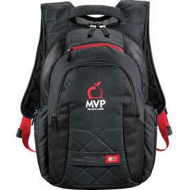 Case Logic Cross-Hatch Compu-Backpack Branded with Your Logo