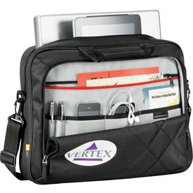 Case Logic Cross-Hatch Compu-Case for Your Company