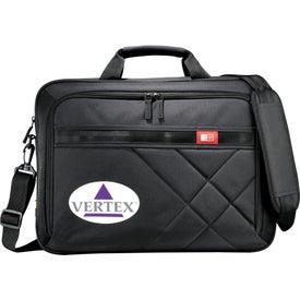 "Case Logic Cross-Hatch 17"" Computer Briefcase"
