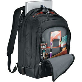 Case Logic GlobeTrot Check-Friendly Compu-Backpack for Advertising