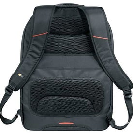 Case Logic GlobeTrot Check-Friendly Compu-Backpack with Your Slogan