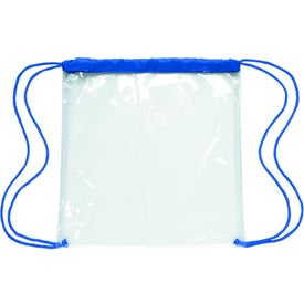 Customized Clear Game Drawstring Backpack