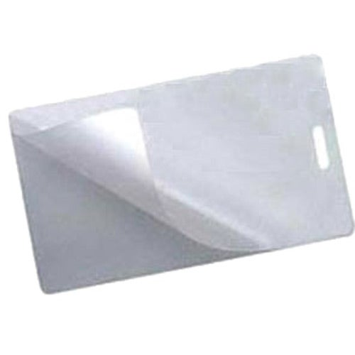 Clear Laminate Luggage Tag (2 Part)