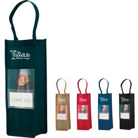 Clear Panel Bottle Carrier for Your Organization