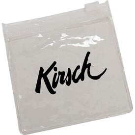 Advertising Clear Pouch with Color Trim