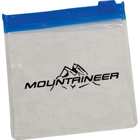 Clear Pouch with Color Trim for your School