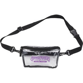Clear Tinted Convertible Waist Packs