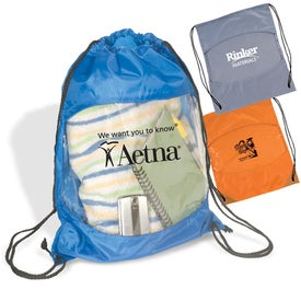 Clear-View Drawstring Bag Giveaways