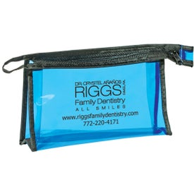 Pima Zippered Amenities Bag for Your Organization