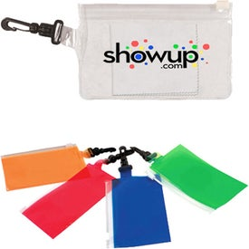 Clip 'N Go Bag with Microfiber Cloth (Full Color Digital)