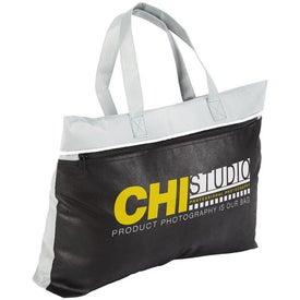 Clipper Zipper Brief Case Bag Giveaways