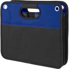 Imprinted Durable Collapsible Trunk Organizer