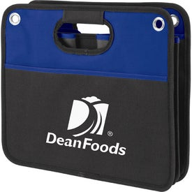 Durable Collapsible Trunk Organizer Imprinted with Your Logo